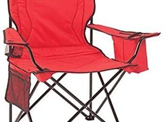 Coleman Portable Camping Quad Chair with 4 Can Cooler