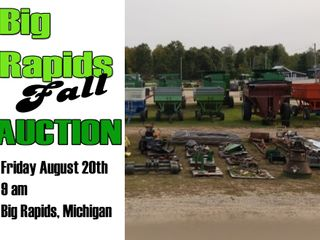Big Rapids Fall Consignment Auction