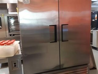 True T 49 2 Door S S Cooler