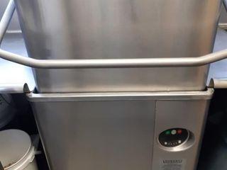 Hobart AM15 High Temp Flow Thru Dishwasher