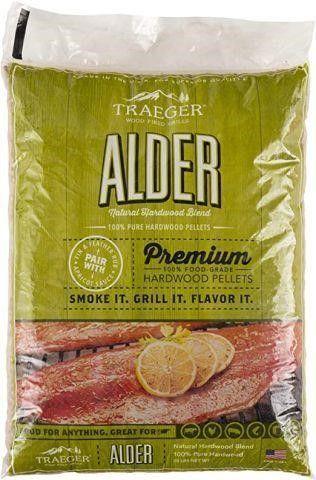 TRAEGER AlDER PREMIUM HARDWOOD PEllETS