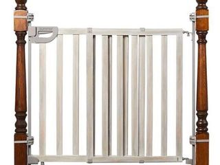 SUMMER WOOD BANISTER AND STAIR SAFETY GATE