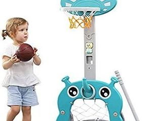 5 IN 1 BASKETBAll HOOP SPORTS ACTIVITY CENTER
