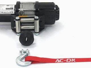 AC DK 4500lB ATV UTV WINCH ElECTRIC KIT W  STEEl