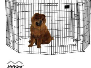 MIDWEST HOMES FOlDABlE METAl EXERCISE PEN