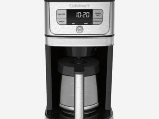 CUISINART FUllY AUTOMATIC BURR GRIND   BREW