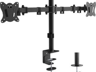 PRIMECABlES DUAl MONITOR MOUNT STAND  UP TO 27
