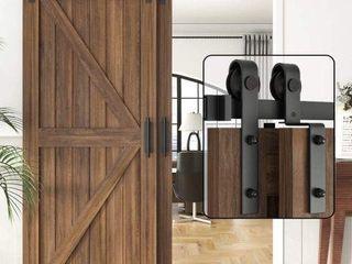 WINSOON SINGlE RAIl DOUBlE DOORS KIT  6 6 FEET