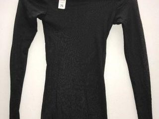 TUllE lONG SlEEVE PEARlNECK SIZE SMAll