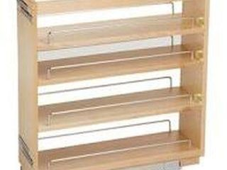 REV A SHElF 6 5  PUll OUT PANTRY WOOD