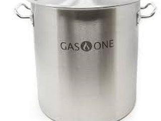 GASONE 20 QUART STAINlESS STEEl BREWING POT