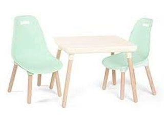 B SPACES MODERN TABlE AND CHAIR SET