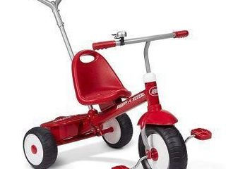 RADIO FlYER DElUXE STEER AND STROll TRIKE  RED