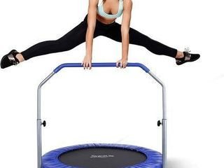 SERENElIFE PORTABlE   FOlDABlE TRAMPOlINE 40