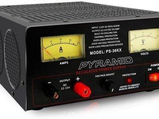 PYRAMID PS36KX 35 AMPERE POWER SUPPlY