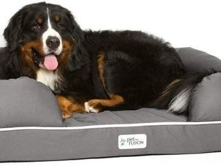 PETFUSION UlTIMATE DOG lOUNGE   BED 44  X34  X 10