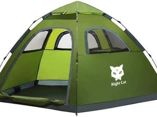 NIGHT CAT WATERPROOF CAMPING TENT 2 4 PERSON