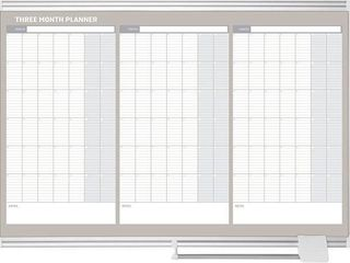 MASTERVISION PlANNING BOARD MAGNETIC DRY