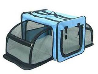 PET lIFE EXPAND WIRE DOG CRATE