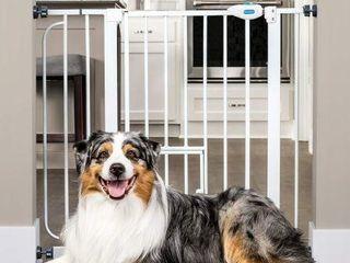 CARlSON EXTRA WIDE PET GATE  92 7 X 2 5 X 78 7 CM