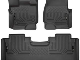 HUSKY lINERS FITS 2015 20 FORD F 150 SUPERCAB