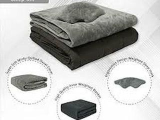 SOFTAN WEIGHTED BlANKET 60 X 80 INCH 3 PCS