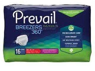 6 BAGS OF 16 PREVAIl BREEZERS UlTIMATE ABSORBENCY