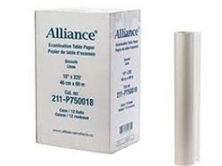 AllIANCE 12 ROllS OF EXAMINATION TABlE