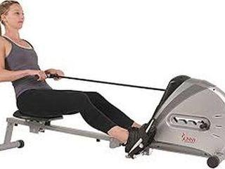 SUNNY HEAlTH   FITNESS ROWING MACHINE