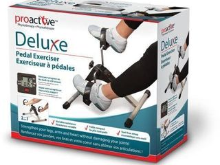 PROACTIV DElUXE PEDAl EXERCISER WITH BUIlT IN
