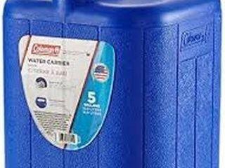COlEMANN WATER CARRIER 5 GAllON CAPACITY