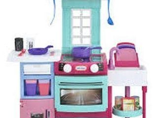 lITTlE TIKES COOK N STORE KITCHEN PlAY HOUSE