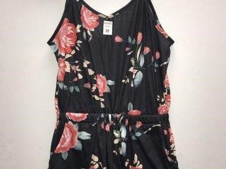 WOMENS ROMPER SIZE lARGE