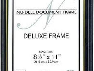 18 PIECE NU DEll DOCUMENT FRAME 8 1 2 X 11 INCH