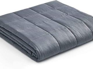 YNM WEIGHTED BlANKET APPRX 24 5 lBS