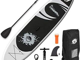 SERENE lIFE INFlATABlE STAND UP PADDlE BOARD SET