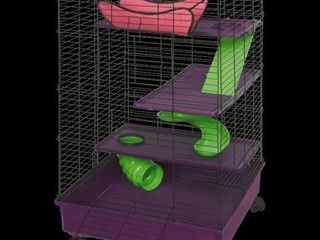KT MFH DElUXE 2X2 MUlTI lEVEl PET HOME WITH CASTER