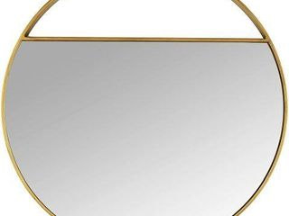 RIVET ROUND WAll MIRROR  22 25 INCHES