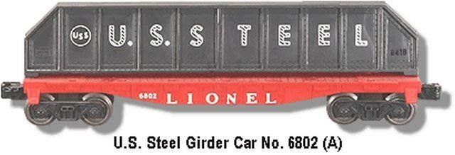 lIONEl 6802 FlAT CAR COllECTIBlE