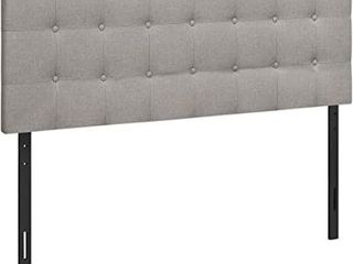 lUCID MID RISE UPHOlSTERED HEADBOARD SIZE QUEEN