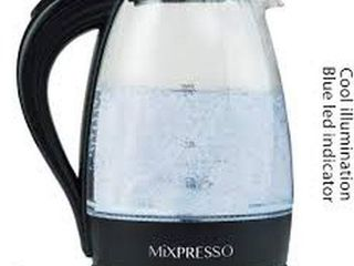 MIXPRESSO ElECTRIC GlASS KETTlE 1 7l CAPACITY