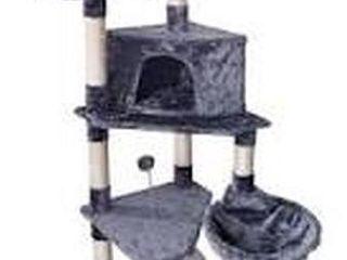 ROYPET FASHION DESIGN CAT TREE W  SCRATCHING POST