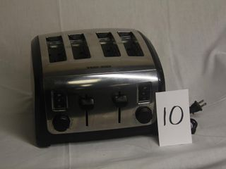 Black   Decker Toaster