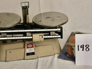 Vintage Weigh Scales   2  ratchet tie down straps
