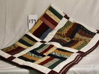 locally made lap quilt