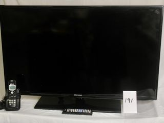 Samsung 40  lED TV plus phone