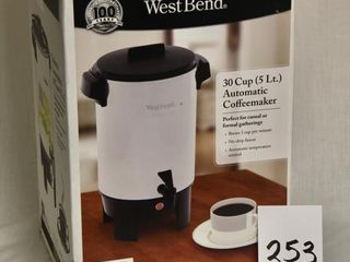 West Bend 30 cup Automatic Coffee maker