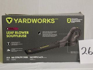 Yardworks leaf Blower