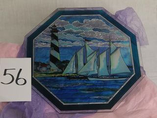 Octagonal Stained Glass piece