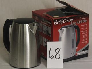 Betty Crocker 12 c Jug Style Kettle